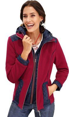 Alessa W. Fleece-Jacke in 2-in-1-Optik ab 62,99€. Fleece-Jacke in fein glänzender Web-Qualitä, Polyester, Figurumschmeichelnde Form bei OTTO