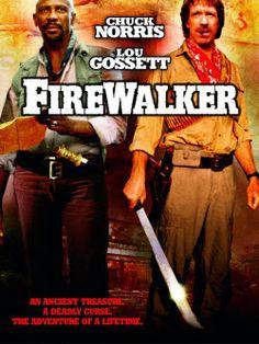 Firewalker poster, t-shirt, mouse pad Sci Fi Movies, Movie Tv, Chuck Norris Movies, Cody Banks, Louis Gossett Jr, Frankie Muniz, Indiana Jones, Classic Movies, Great Movies