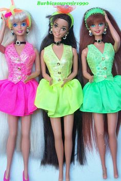 Cut and Style Barbie, Teresa, Midge