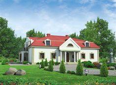 To dom, który można równie dobrze nazwać gustownym zameczkiem