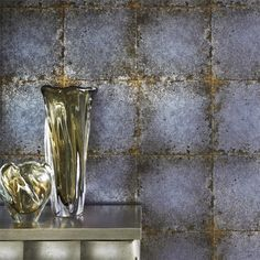 Zoffany - Luxury Fabric and Wallpaper Design | Products | British/UK Fabric and Wallpapers | Lustre Tile (ZQUA310986) | Quartz Wallpapers