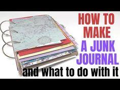 Art Journal Prompts, Journal Paper, Art Journal Pages, Junk Journal, Art Journals, Handmade Journals, Handmade Cards, Notebook Art, Glue Book