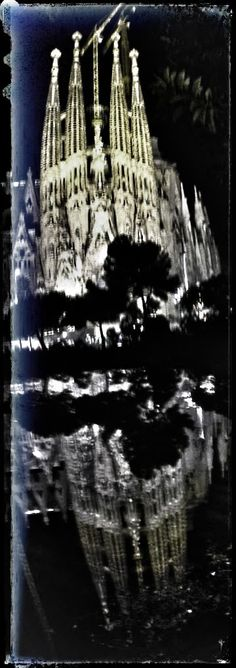 Double Sagrada Familia!!!!!! visit us at www.skipthelinebarcelona.com Gaudi, Just Amazing, Cathedral, Barcelona, Tours, Architecture, Building, Travel, Sagrada Familia