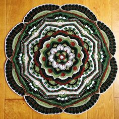 Mandala Madness - Free Pattern on Ravelry ... This one is by A. Johnston