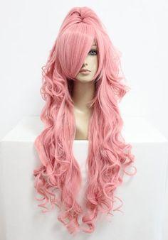 Perücke cosplay Vocaloid Hatsune Miku türkis ca. 75cm lang mit 2 einclipbaren Haarteilen - HM-B109_TF2513B/J2 7:3: Amazon.de: Parfümerie & Kosmetik