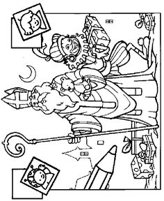 St Nicholas and the Poor Coloring page Childrens Ministry