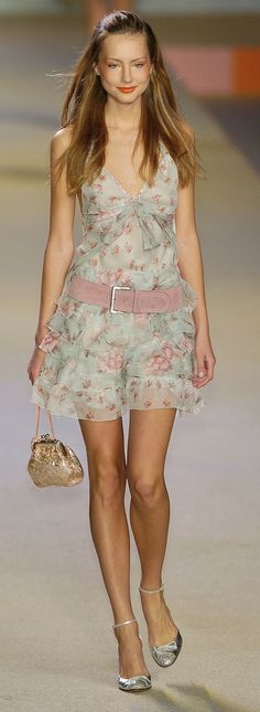 Blugirl spring 2005 Milan