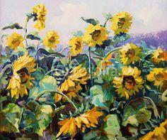 Quadro Canvas <br> (Sunflower)