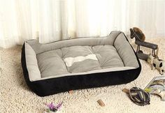 Dog Bed Kennel Plus Size - L & XL