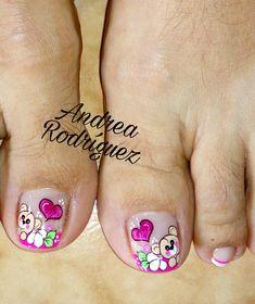 Nail Salon Design, Pedicure, Nail Designs, Hair Beauty, Nails, Stickers, Finger Nails, Pretty Toe Nails, Simple Toe Nails