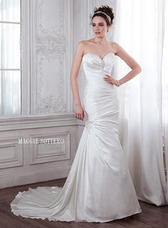 Sottero and Midgley Maggie Bridal by Maggie Sottero Aideen-5MS131 $415.99 Sottero and Midgley