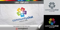 Community Chat - Logo Template