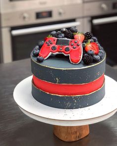Pj Masks Birthday Cake, Cool Birthday Cakes, Cake Designs For Boy, Alphabet Cake, 40th Cake, Cakes For Boys, Buttercream Cake, How To Make Cake, Amazing Cakes
