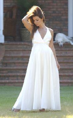 wedding dress halter style
