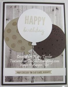 Peggy's Two Cool Masculine Celebrate Today Cards