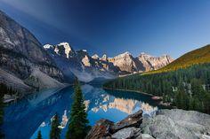 Beautiful Morning at Moraine Lake, Alberta by Björn  Siegfried on 500px