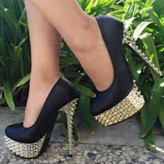 Spike Pump High Heels