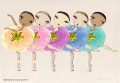 Dibujos de bailarinas de ballet - Imagui