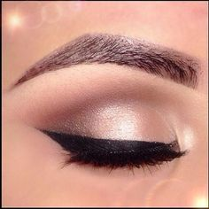 @Megan Ward Baum Love this look for you - Maybe a shorter or thinner cat eye. I like the shadow colors best, though.