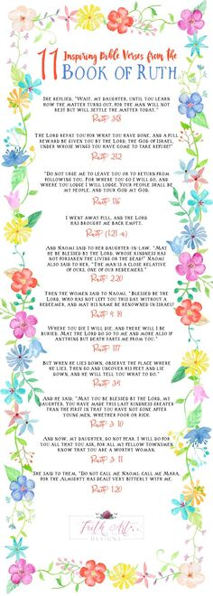 11 Inspiring Bible Verses from the Book of Ruth