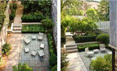 jardin débordant de caractère