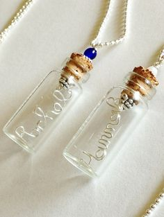Gifts for Tween Girls: Personalized Name Necklace Wire Name Necklace by SpiralsandSpice, $32.95