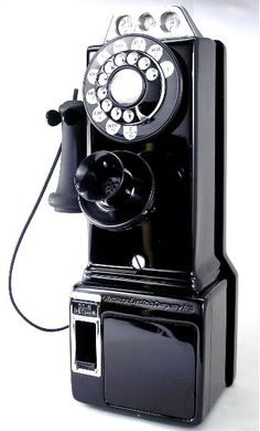 1950s Pay Phones for Sale | WesternElectric 1930s-1940s Style Pay Phone
