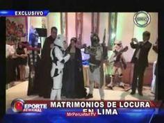 """▶ STAR WARS WEDDING: Boda al estilo de Película """"GUERRA DE LAS GALAXIAS"""". Matrimonios LOCOS"""