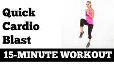 January Jump Start Workout #1: 15-Minute Quick At Home Cardio Blast - No...
