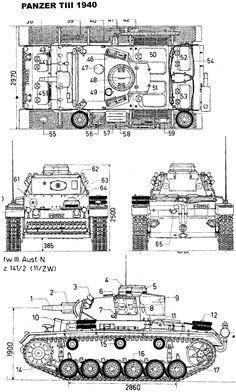 panzerkampfwagen 3 blueprints - Google Search