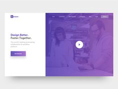 Invision theme redesign - landing page & mobile web by Divan Raj #Design Popular #Dribbble #shots