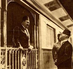 King Fouad on The Royal Train