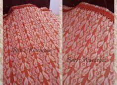 Brown Leaf Printed Pure Handloom Bedspreads