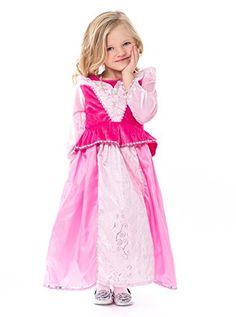 Little Adventures Traditional Sleeping Beauty Girls Princess Costume - Small (1-3 Yrs) ** To view further for this item, visit the image link.