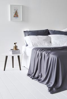 Bamboo Sheets - Grey    #breakfast #breakfastinbed #sleep #bed #duvet #organicbedding #ethicalproducts #homeinspo #homedecor #bedroomideas