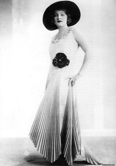 Marlene, early in her career. She was still seeking her defining look.