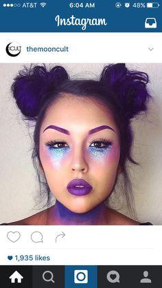 Kitty Kat day makeup