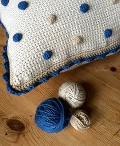 Crochet club: make a bobble cushion cover with a free pattern and tutorial from Kate Eastwood: only on the LoveCrochet blog!
