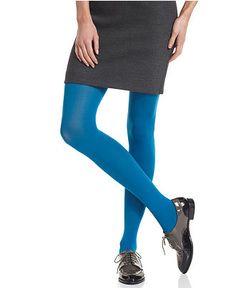HUE Tights, Super Control Top Opaque Tights - Tights, Leggings & Socks - Handbags & Accessories - Macy's