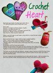 Hallo, anbei eine Anleitung für ein gehäkeltes Herz, das prima als Schlüsselanhänger geeignet ist. Es ist meine erste selbst erstellte Anleitung, ich hoffe, dass sie einigermaßen verständlich ist. Sonst meldet euch bitte.