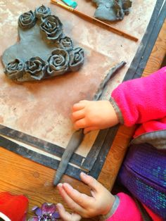 nounou Pascale: projet atelier = l'argile
