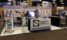 2014 American College of Veterinary Internal Medicine (ACVIM) Conference - ESS Booth.