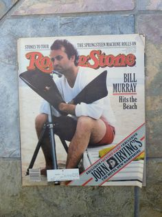 Bill Murray Rolling Stone magazine Issue number by OatesGeneral