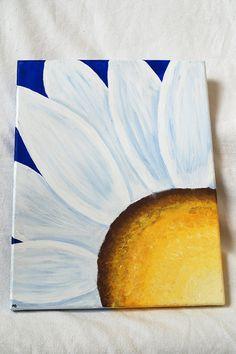 Daisy Canvas Art