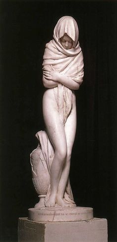 Jean-Antoine Houdon (1741-1828)The Cold Girl Marble, 1783