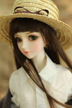 Ball jointed doll, It's so beautiful! Anime Dolls, Ooak Dolls, Blythe Dolls, Girl Dolls, Barbie Dolls, Pretty Dolls, Beautiful Dolls, Enchanted Doll, Cute Baby Dolls