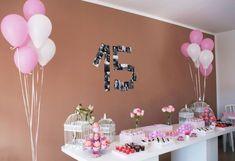 15th Birthday Party Ideas, Diy Birthday, Happy Birthday, Birthday Parties, Fiesta Decorations, Birthday Decorations, Baby Shower Decorations, Tumblr Birthday, Secret Party