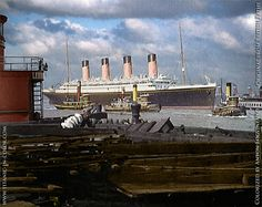 Olympic the year before she was scrapped