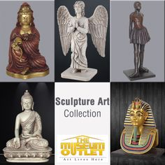 Discover affordable original Sculpture Art for sale through #TheMuseumOutlet – Online Art Gallery featuring Asian, Neo Classic, European, Greek & Roman Sculptures. #BuySculptureArtOnline  Visit: https://www.themuseumoutlet.com/home-decor-and-gifts/sculptures