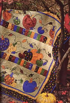 Pumpkin Row Quilt